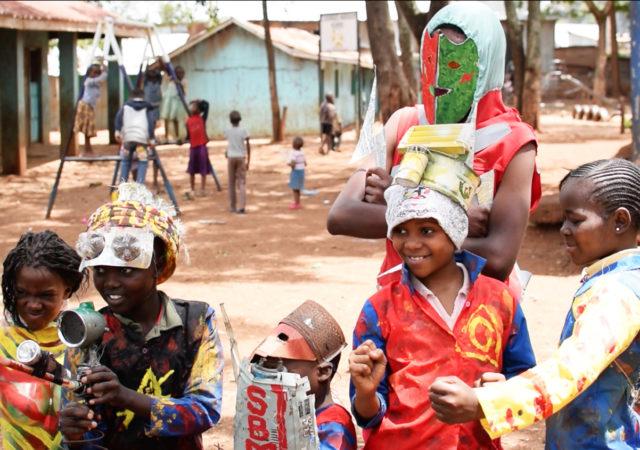 Superheros of Kibera