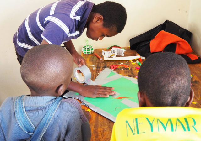 CIAK! Kibera: the workshops